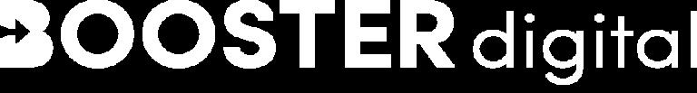 Logo Booster Digital Blanc